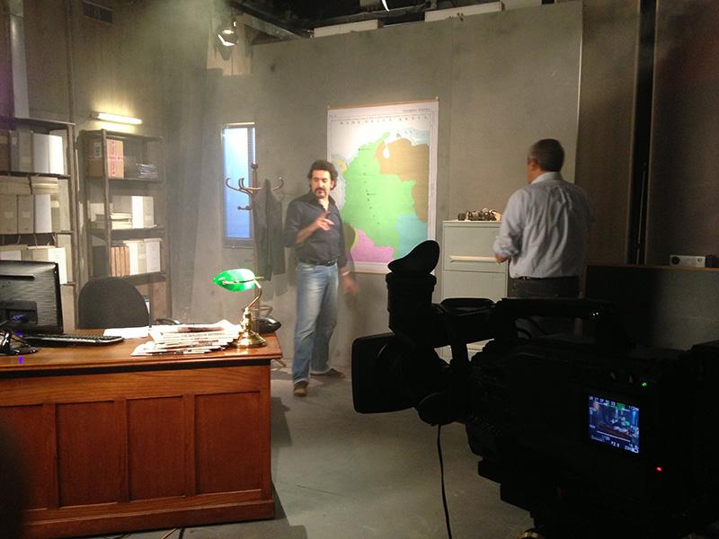 Scenografia Studio 'Insider' con Luigi Pelazza